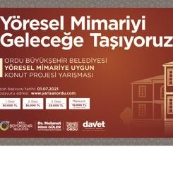Yöresel Mimariye Uygun Konut Projesi Yarışması Sonuçları Açıklandı