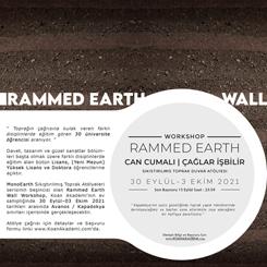 Mono Earth Rammed Earth Wall Workshop