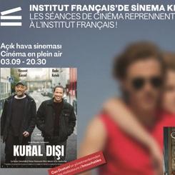 Institut français'de Sinema Gösterimleri Başlıyor