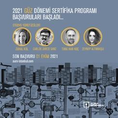 AURA İstanbul 2021 Güz Dönemi Sertifika Programı Başvuruları Başladı