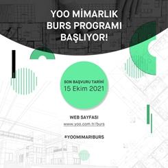 YOO Mimarlık Mimari Burs Programı Başlıyor