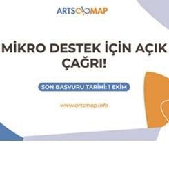 Arts Map Mikro Destek Başvuruları Başladı