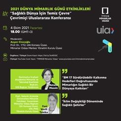 """'Sağlıklı Dünya için Temiz Çevre"""" Çevrimiçi Uluslararası Konferansı"""