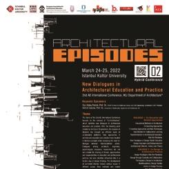 Mimarlık Serisi 02: Mimarlık Eğitimi ve Pratiğinde Yeni Diyaloglar'ın Özet Gönderim Tarihi Uzatıldı