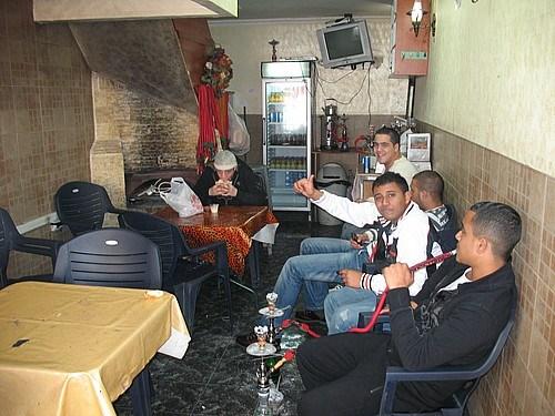 Akka'da Filistinlilerin gittiği bir kahve
