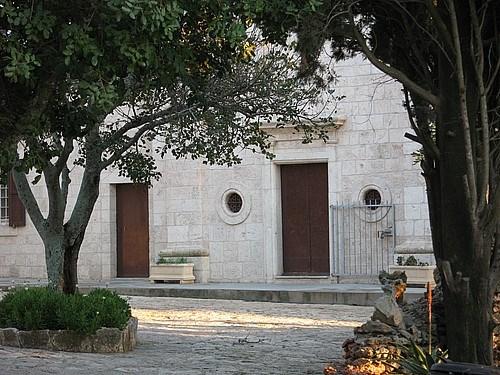 Tiberia'da bir kilise
