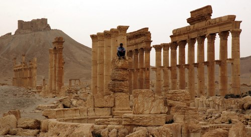 Ortadoğu'nun en güzel antik kentlerinden, Palmyra