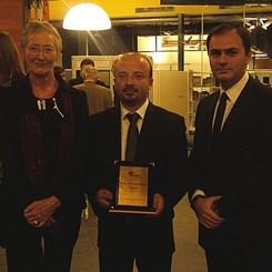 Murat Bektaş Ödülünü Aldı