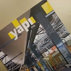 Mimarlık, Kültür ve Sanat Dergisi YAPI'nın Mayıs Sayısı Çıktı!