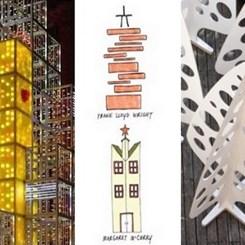 Yeni Yılı Müjdeleyen 'Mimar Ağaçları'