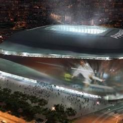 Real Madrid'in Stadyumu Yeni Yüzüne Kavuşuyor