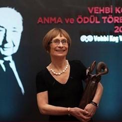 13. Vehbi Koç Ödülü'nün Sahibi Prof. Dr. Zeynep Çelik