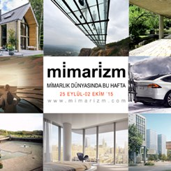 Mimarlık Dünyasında Bu Hafta | 25 Eylül-2 Ekim