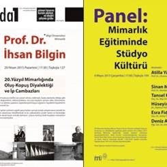 İTÜ Mimari Tasarım, Kuram, Yöntem ve Eleştiri Çalışma Grubu'ndan 2 Yeni Etkinlik Dizisi