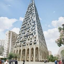 Kudüs'e Libeskind İmzalı Piramit