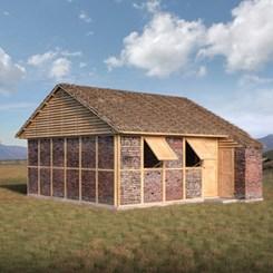 Shigeru Ban'dan Nepal'deki Depremzedeler için Modüler Ev Tasarımı