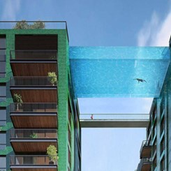 Bu Projede Komşunuza Yüzerek Gidebilirsiniz!