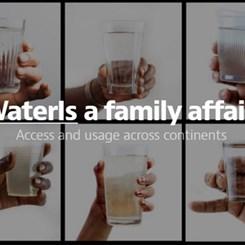 UNICEF'ten Sağlıklı Su Erişimine Dikkat Çeken Aile Portreleri
