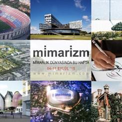 Mimarlık Dünyasında Bu Hafta   4-11 Eylül