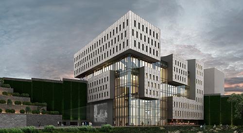 """""""Bir mimar için kütüphane projesi yapmak büyük..."""